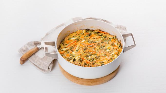 Frittata-soufflé met zoete aardappel - Video - Allerhande - Albert ...