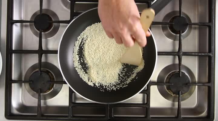 Noten, zaden en pitten roosteren