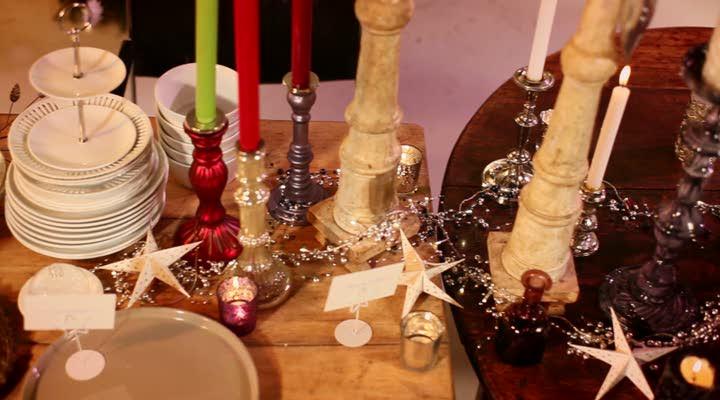 Kersttafel merry mixmas