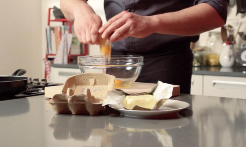 Omelet bakken
