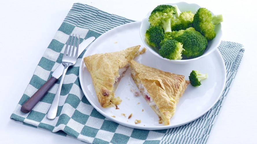Koolvispakketjes met broccoli
