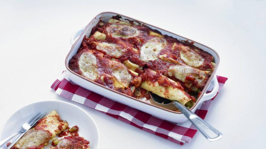 Cannelloni met wintergroenten