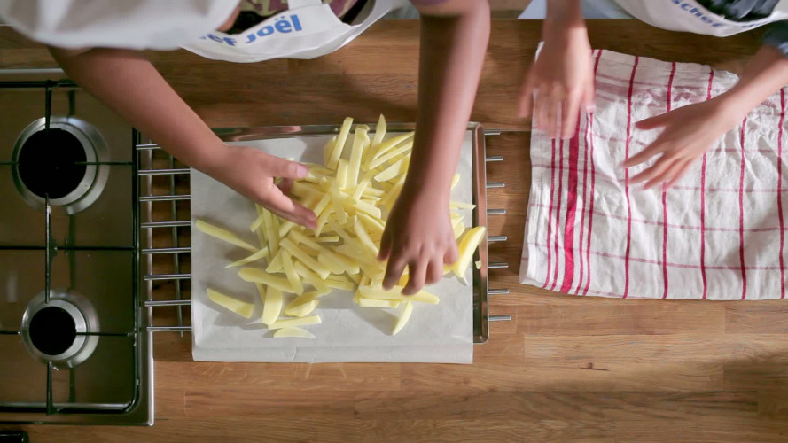 Hoe maak je verse friet?