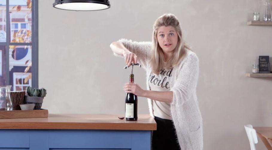 Hoe ontkurk je wijn?