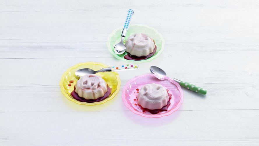 Opperdepop: yoghurtmousse met diksap (1-2 jr)