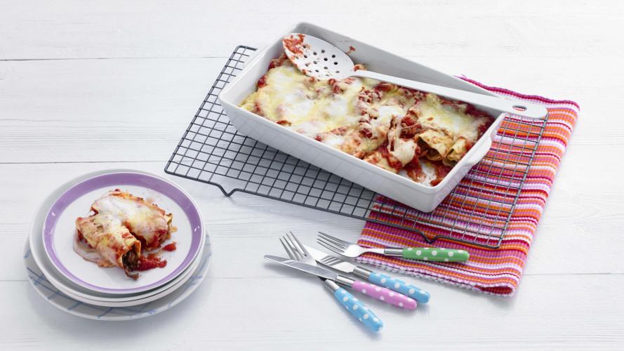 Opperdepop: slimme cannelloni (2-4 jr)