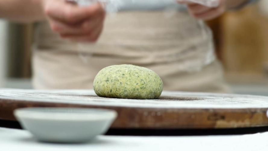 Groene pasta maken