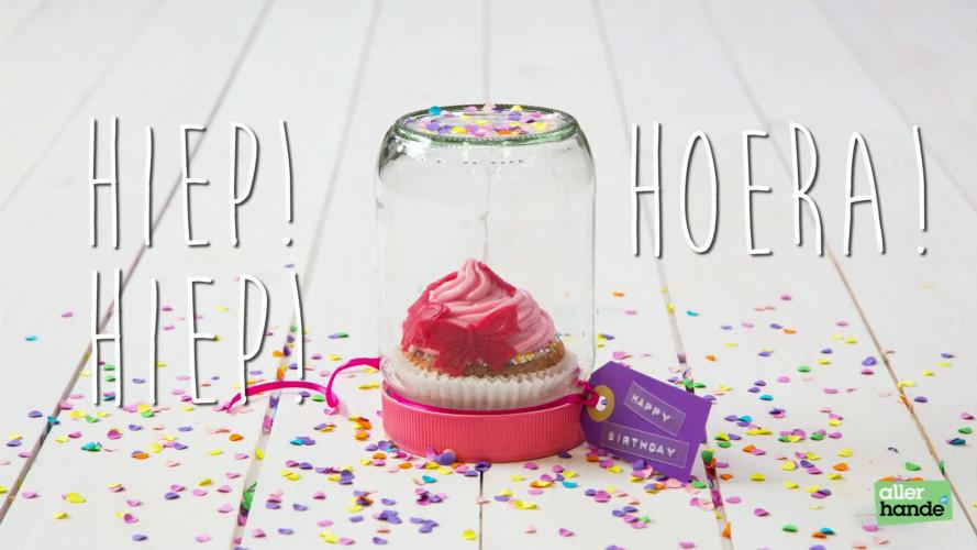 Cupcake-cadeau