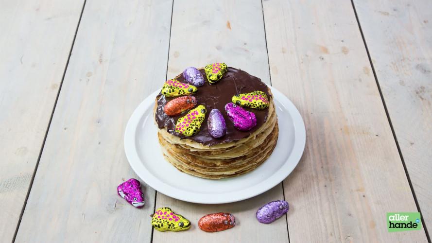 Sinterklaas surprise met pannenkoeken