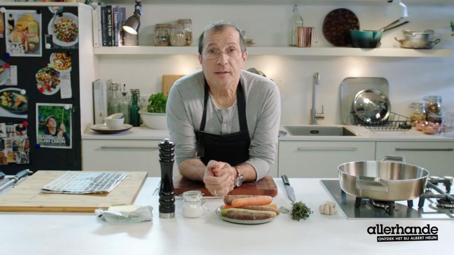 Groente smoren à la Alain Caron