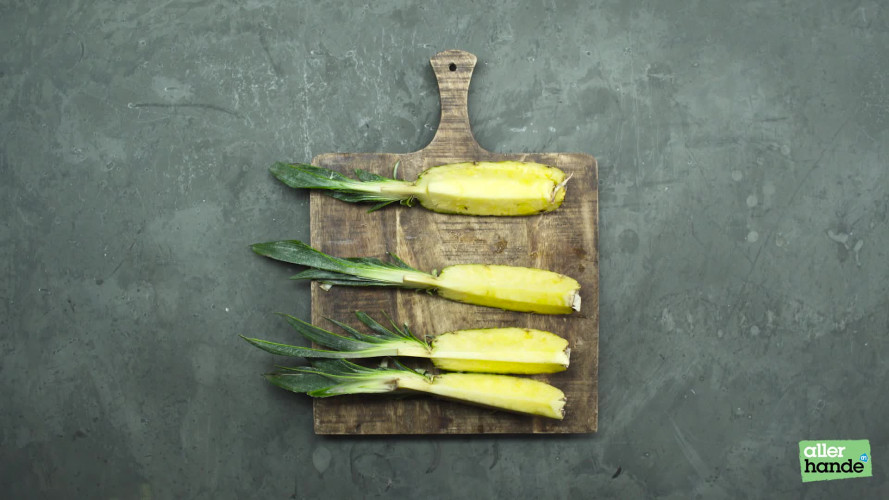Allerhandigst ananas snijden