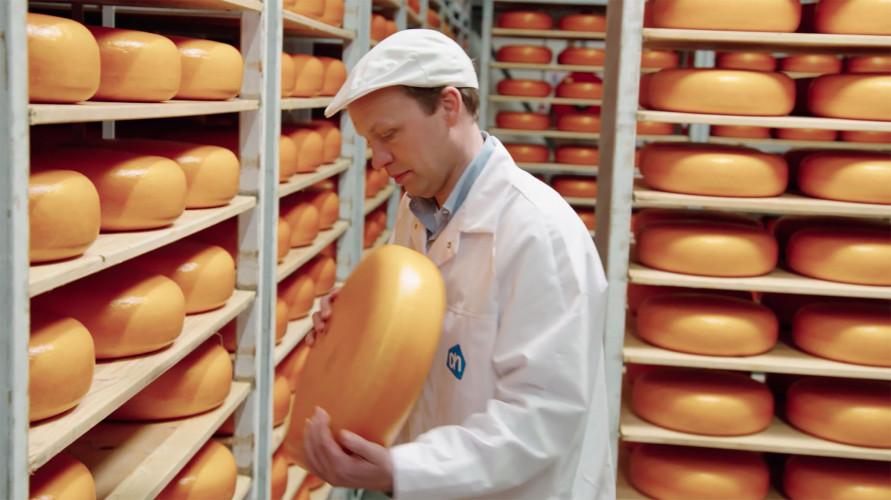 De Albert Heijn van onze kaasmeester Harmen