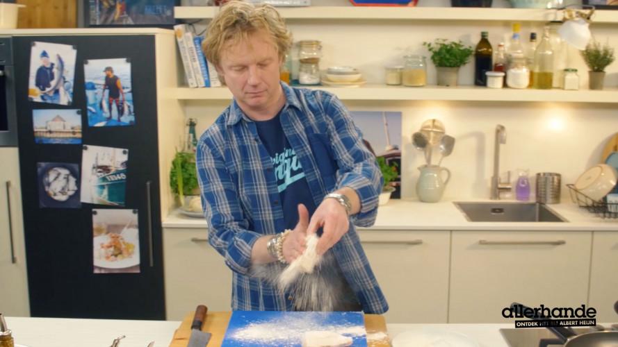 Bart van Olphen - schelvis met zeekraal