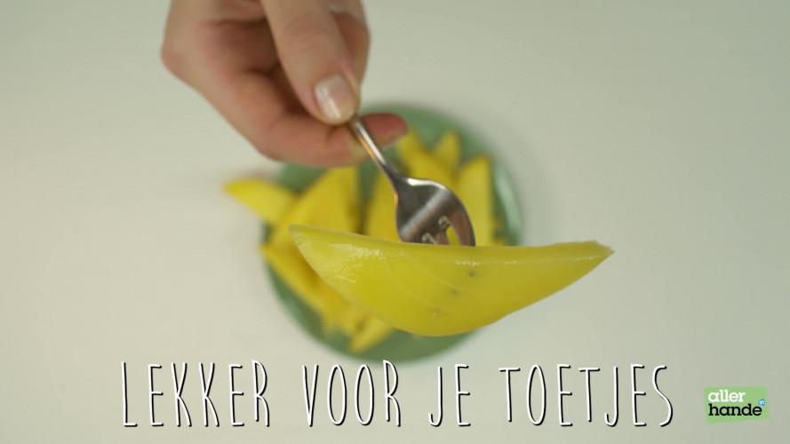 Onrijpe mango zoet maken