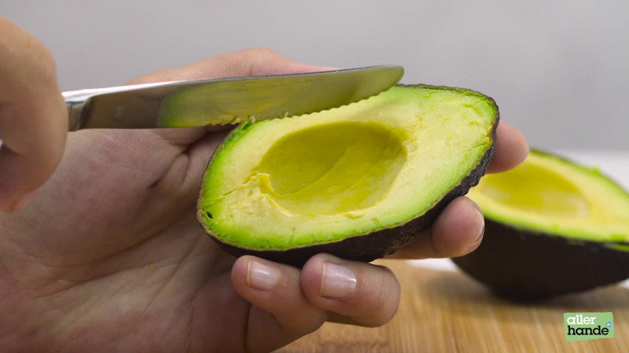 Slim avocado snijden