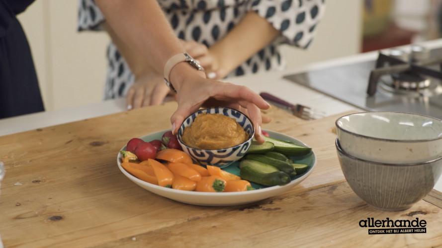 The Green Happiness - zoete-aardappeldip