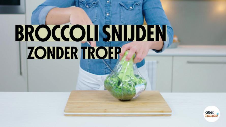 Broccoli snijden