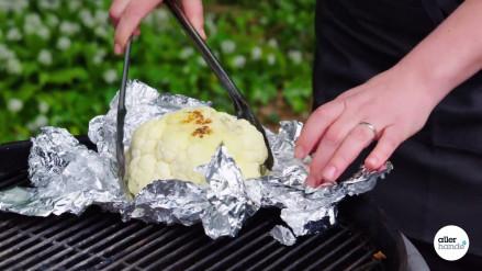 Bloemkool van de barbecue