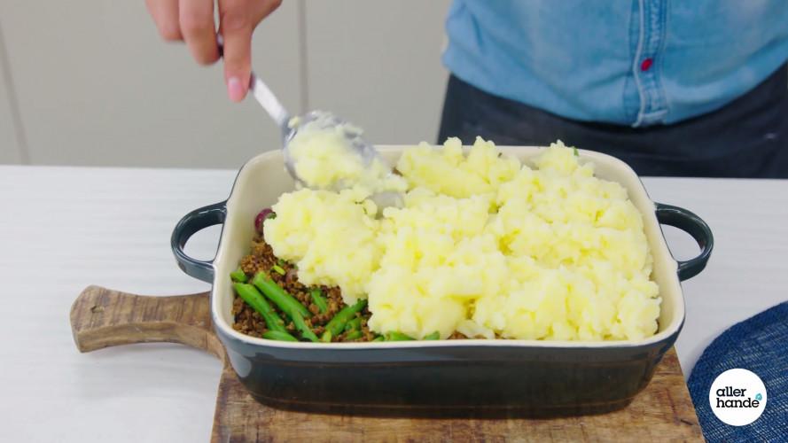 Ovenschotel met vegagehakt