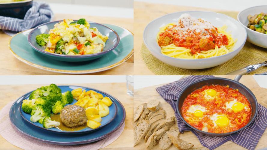 Zondagkoken: 1x koken, 4x avondeten door mealpreppen