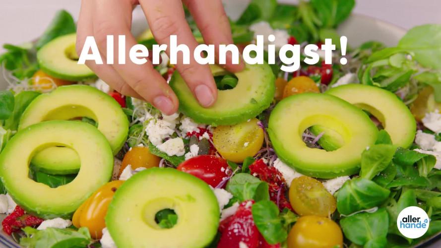 Allerhandigst avocadoringen snijden