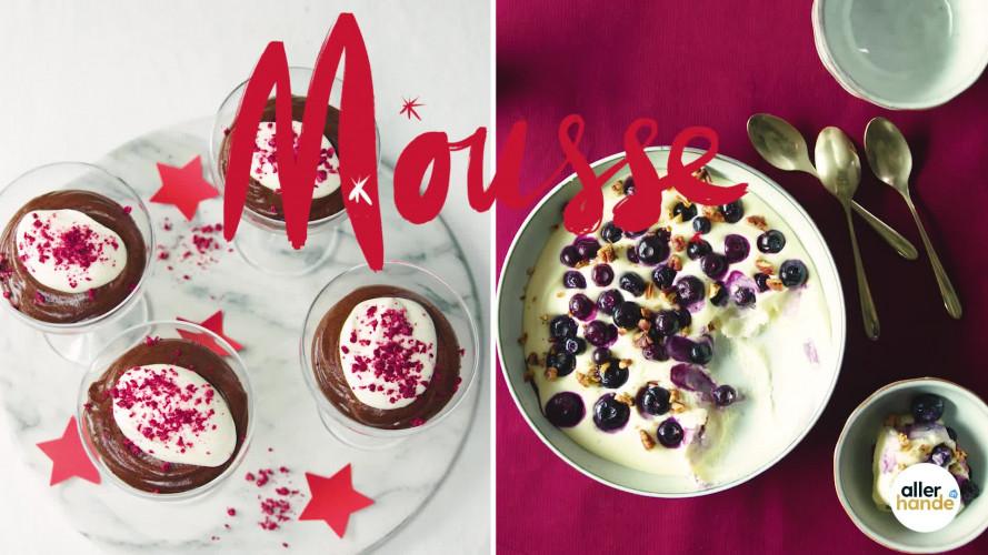 Chocolademousse maken als kerstnagerecht