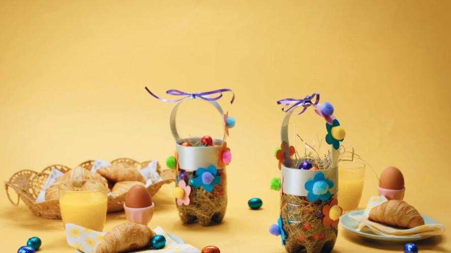Eiermandje voor paaseieren maken