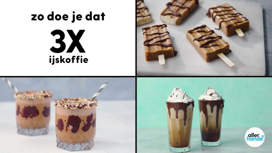 3x ijskoffie