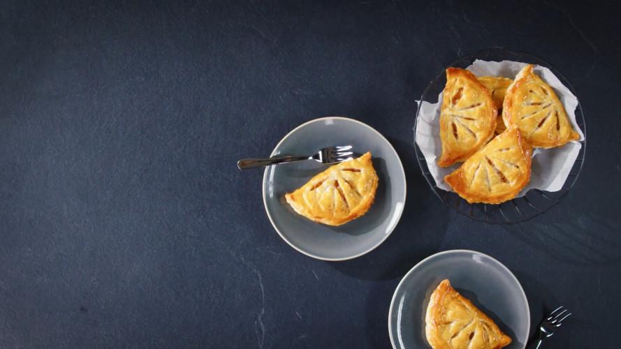 Franse appelflap (chausson aux pommes)